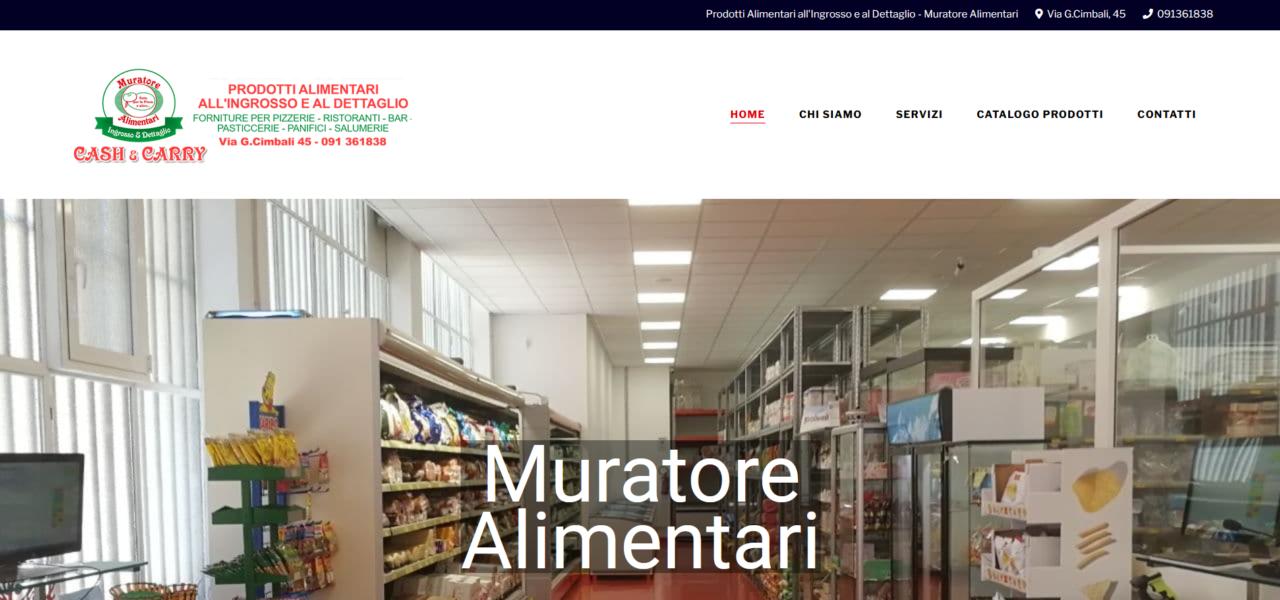 Portfolio Hero Digital - Muratore Alimentari